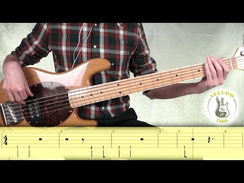 Bon Jovi - It's my life for 5-string bass with TABS