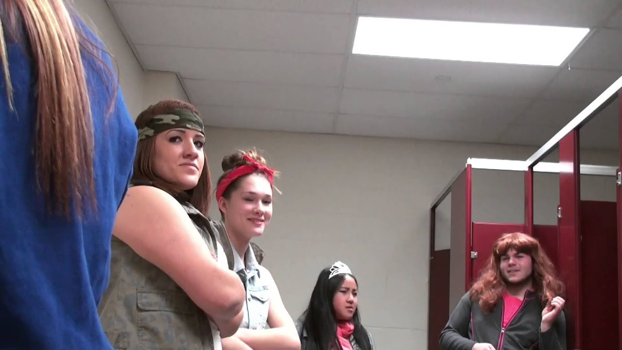 Fitchburg High School Pep Rally Video - The Girls' Room ...
