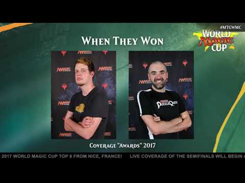 "2017 World Magic Cup: Coverage ""Awards"" for 2017"