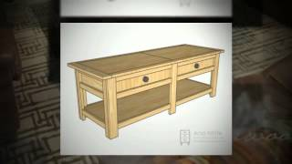 Coffee Table Plans | How To Build A Coffee Table