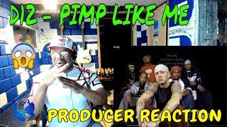 D12   Pimp Like Me Lyrics - Producer Reaction