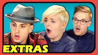 YOUTUBERS REACT EXTRAS - Colorblind Man Sees Purple for the First Time