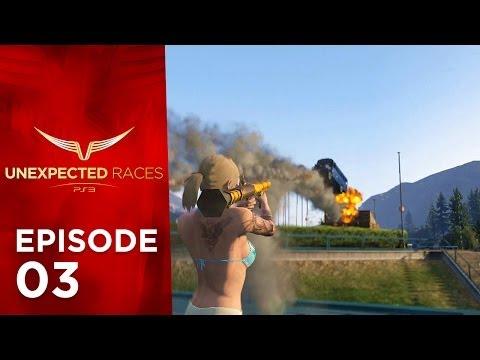 GTA Online: Unexpected Races EP 03, Playlists, Bikes & Group stunts