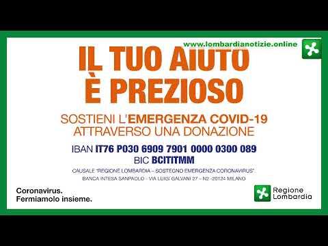 Coronavirus: Conferenza Stampa 29.03.2020 - ore 17:30