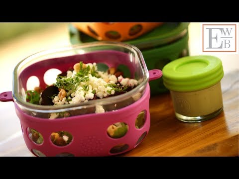 3 Lunchbox Ideas Featuring Salads (COLLAB WITH GIRLS WITH GLASSES!)
