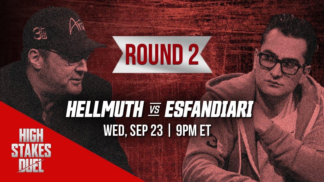 High Stakes Duel Round 2 Preview   Phil Hellmuth Vs. Antonio Esfandiari