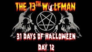 31 Days of Halloween Day 12