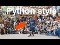 Python style toprock. A secret Beat Street throwback in Ken Swift's latest battle. Daily Flava 39