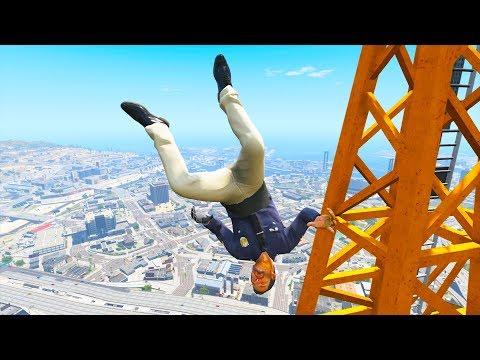GTA 5 Jumping Fails #3 - Funny Moments