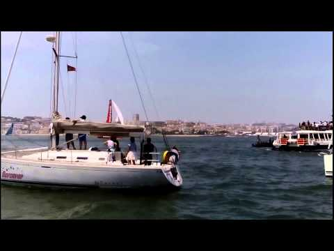 Volvo Ocean Race - Lisbon In-Port Race - Regatta 2015-06-06 mov-no-audio