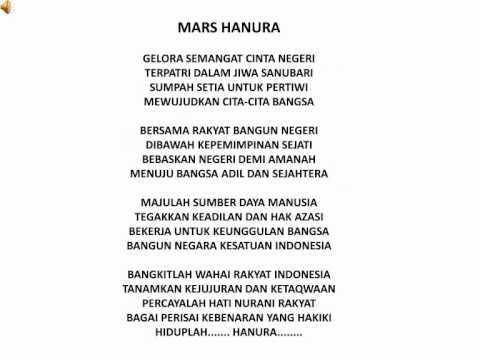 Lagu Upacara Hanura