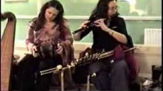 Irish Music: two concertinas and flute