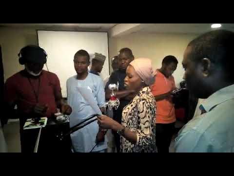 World Bank rapid skill training, radio drama in process of recording(mini project) Peace Production