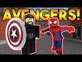 Lagu THE AVENGERS! (+Ewin Sponsor!)  ROBLOX: Super Power Training Simulator