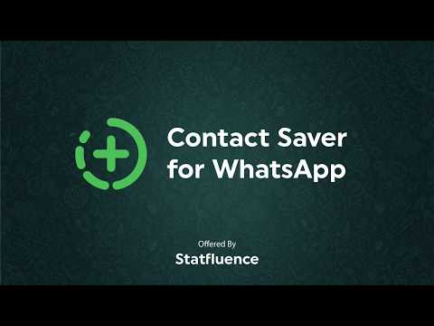 How to export and save contacts from WhatsApp chats and groups
