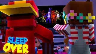 Minecraft Adventure - SLEEP OVER WITH MY GIRLFRIEND!!!