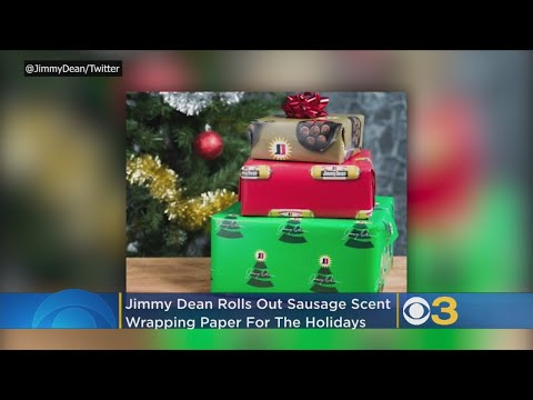 Craig Stevens - Jimmy Dean is making sausage-flavored candy canes for the holidays