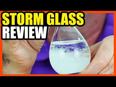 Storm Glass Review- Can They Really Predict the Weather?