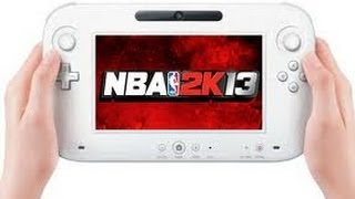 Nba 2k13 Wii U Gameplay Screenshots | Controller Features - Will you buy it?
