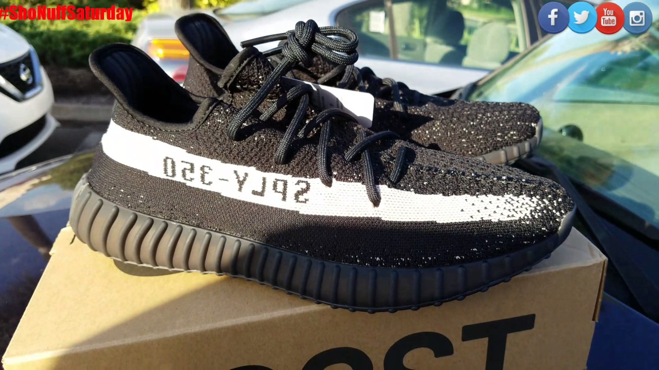 hot sale online 4cb4d 40df7 Adidas YEEZY 350 Boost V2 Core Black/Core White Review
