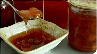 Персиковое варенье - будто мед! Очень вкусно!