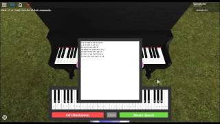 (Roblox Virtual Piano) Sbiadito/Fogli