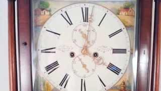 Antique Scottish Mahogany Longcase Clock