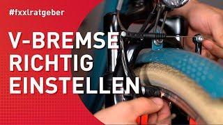 V-Brake richtig einstellen