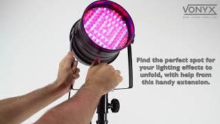 Vonyx 35mm Speaker Stand Extension For Lighting Unit