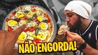 FIZEMOS UMA PIZZA DELICIOSA QUE NÃO ENGORDA!!!