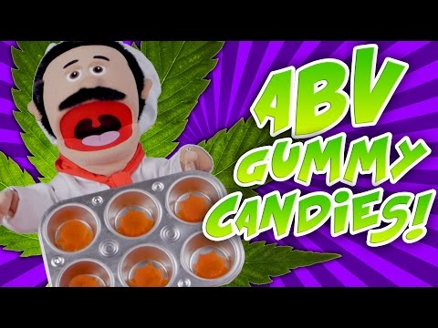 ABV Weed Recipes - How To Make ABV Gummy Candy Recipe