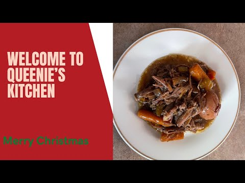 HOW TO COOK A CHUCK ROAST IN A CROCKPOT MERRY CHRISTMAS