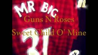 Guns N Roses   Sweet child o' Mine Intro Edit  MR BIG DJ )