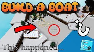 Got back to babft after became private, This happened....... | ROBLOX Build A Boat !!!