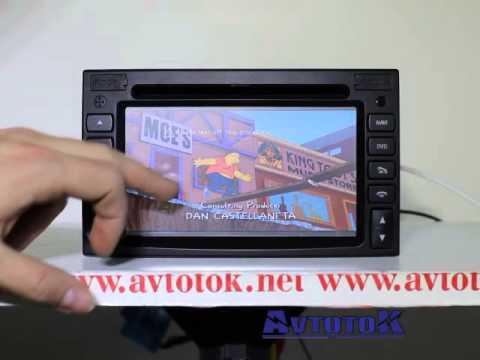 Штатная автомагнитола для Cherry Tiggo Winca C115 - YouTube