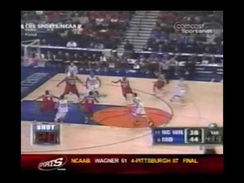 Maryland - UNC Wilmington Highlights 2003 NCAA Tournament