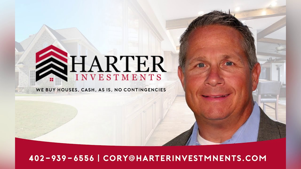 Sell Your House Fast in Omaha, NE. How it works. Harter Investments. 402-939-6556