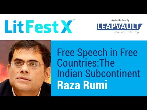 Free Speech in Free Countries: The Indian Subcontinent. Live with Raza Rumi