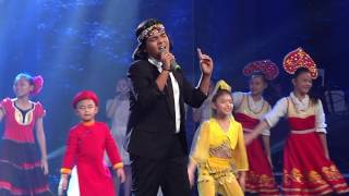 than tuong am nhac nhi 2016 - chung ket - we are the world - jayden