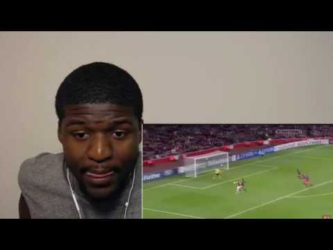 BEST GOALS EVER SCORED IN CHAMPIONS LEAGUE REACTION!!!