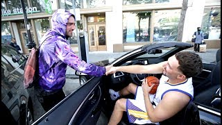 Behind the Scenes of Pretending to be Klay Thompson