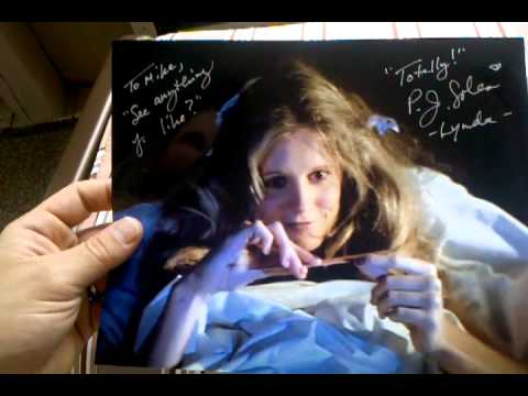 TTM THROUGH THE MAIL SUCCESS: P.J. SOLES AUTOGRAPHED PHOTOS HALLOWEEN