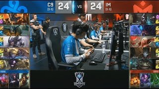 C9 (Impact Rumble) VS IM (AmazingJ Ekko) Highlights - S6 World Championship Group Day 4