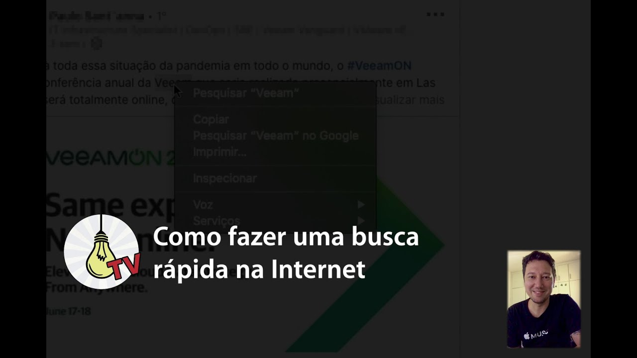 Como fazer uma busca rápida na Internet