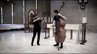 Karolina Radovani & Daniel Nix: Johan Halvorsen - Sarabande con Variazioni on a Theme by Handel