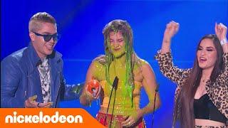 KCA Mexico 2018 - Sofía Reyes recibe baño de slime
