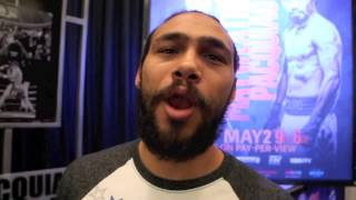 Keith 'one Time' Thurman Sends A Good Luck Message To Amateur Boxer Bobby Watson Ahead Of First Bout