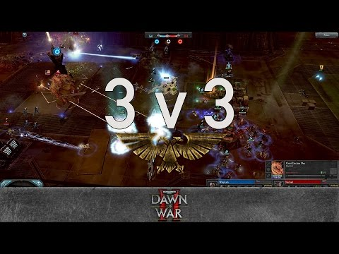 Dawn of War 2 - 3v3 | WhipLash + Mahror + Lomors [vs] Nurland + BestN00b + Ace of Swords
