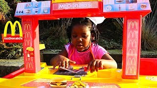 Fun Sisters  Pretend Play With Mcdonalds Toys | Fun Video For Kids