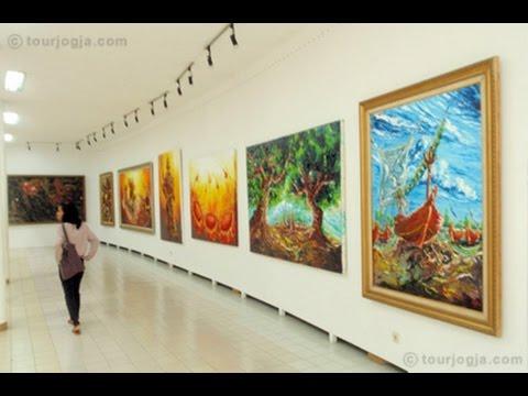 AFFANDI MUSEUM : Visiting the Palace Maestro Art - Yogyakarta Indonesia